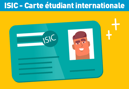 ISIC la carte d'étudiant internationale