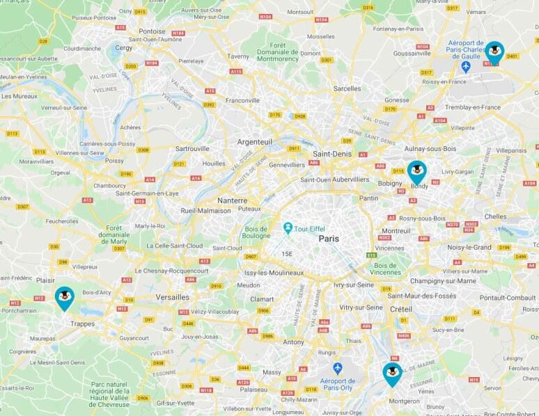 Location Utilitaire Aller Simple près de Paris